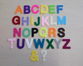 Capital Alphabet Letters. Ideal for Bunting, Felt, Die Cut
