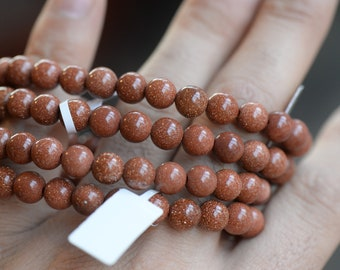 Red Goldstone Bracelet