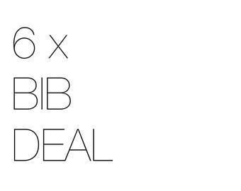 Any 6 individual bib deal