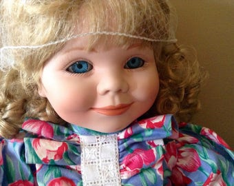 "Repair Beautiful 18"" Goebel Doll Club Doll"