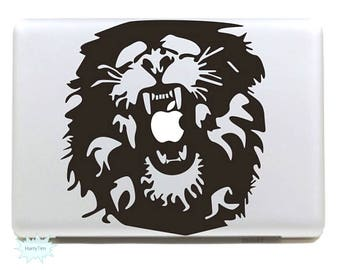 Lion Decal Mac Stickers Macbook Decals Macbook Stickers Apple Decal Mac Decal Stickers Laptop Decal