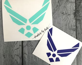 Air Force Decal - United States Air Force - Decal - Sticker