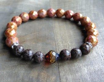 Bohemian bracelet hippie bracelet boho chic bracelet rustic bracelet funky womens jewelry boho chic jewelry gypsy bracelet boho bracelet