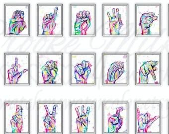 custom order HENRY ASL 5x7 prints