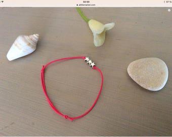 Lilou Star Silver bRacelet