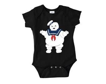Stay Puft Marshmallow Man, Ghostbusters Onesie, LJ #57
