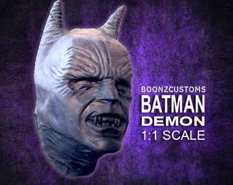 Batman Demon Life Size Mask