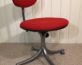 JORGEN RASMUSSEN Denmark Upholstered Office Chair