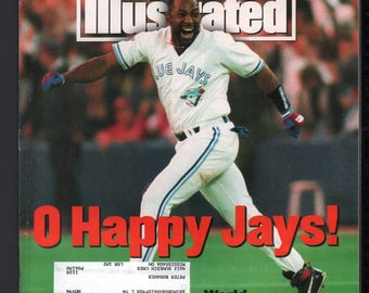 Vintage Magazine - Sports Illustrated : November 1 1993 - Joe Carter