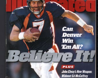Vintage Magazine - Sports Illustrated : November 30 1998 - John Elway