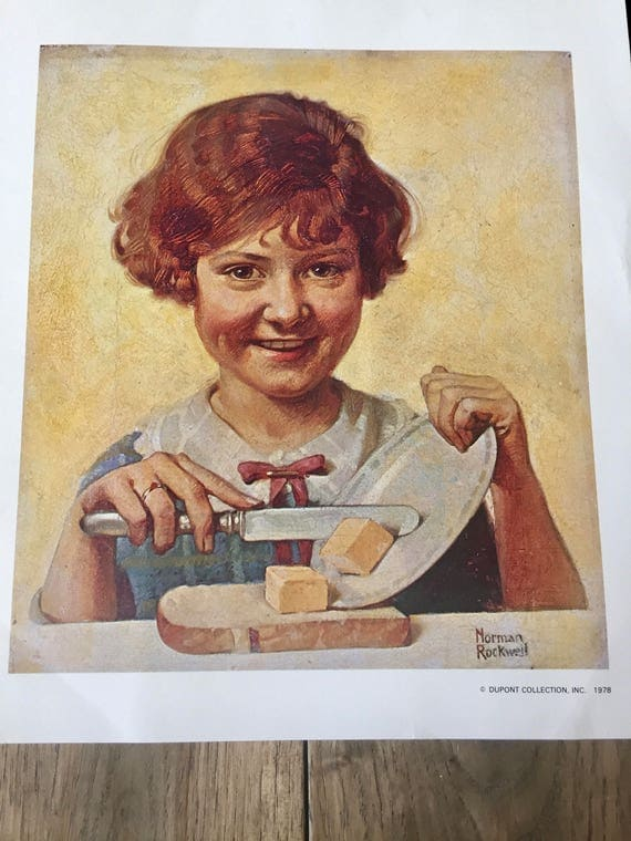 norman rockwell poster book 1976
