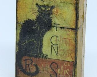 portasigarette gatto nero