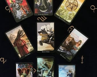 Tarot Therapy Spread; Same day psychic, same day clairvoyant, same day reading.