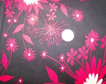 Heidi Grace Designs - Midnight Kisses - Quilting cotton red 1.50 yards