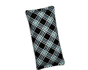 Natural heat therapy, Cooling pad, Blue plaid gift, Easter basket idea, Care package filler, Birthday Gift teens, Valentines Gift under 15