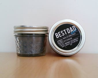 Best Dad Ever Candle- Scented Soy Candle- Father's Day Candle-  Gift for Dad by EttaArlene Candles- 4 oz Jar