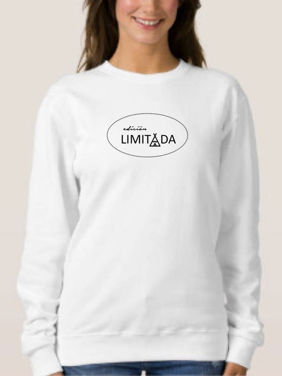 Round neck women sweater EDICION LIMITADA