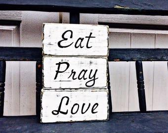 Eat Pray Love Home Decor
