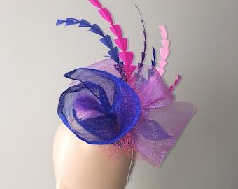 "Kentucky Derby Fascinator ""Jenny"" - derby hat, tea party hat, wedding hat, church hat, royal ascot hat, belmont stakes, fascinator hat"