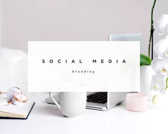 Social Media Branding Package • Twitter Header • Facebook Header • Profile Icon