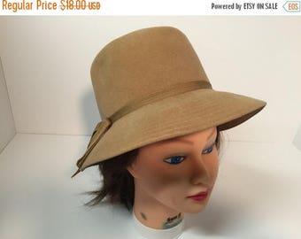 50off Vintage Betmar tan hat