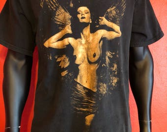 90's Cradle of filth Martyred for a mortal sin tee size XL