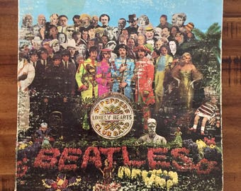 1967 The Beatles Sgt. Peppers Lonely Hearts Club Band Gatefold Album/ Smas 2653/ Apple/ Capitol Records
