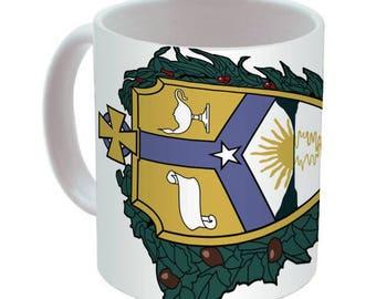 Alpha Kappa Lambda Mega Crest Coffee Mug