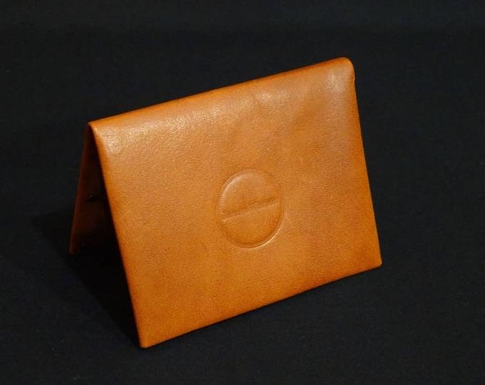 Bantam8 Wallet - Whiskey Tan - Genuine Kangaroo Leather Wallet Men Woman Custom Slim Card Sleeve Wallet RFID Chip Protection