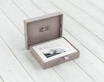 Presentation box - Mat box - Photography Packaging - Wedding Photography Packaging - Handmade