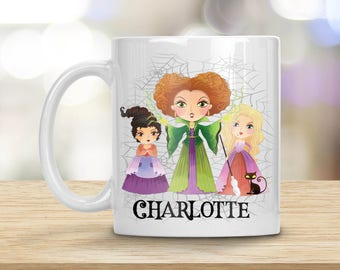 Hocus Pocus Mug, Glorious Morning, Sanderson Sister Mug, Personalized Mug, Hocus Pocus Gift, I Put A Spell On You, Bink