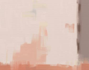 abstract downloadable art painting print