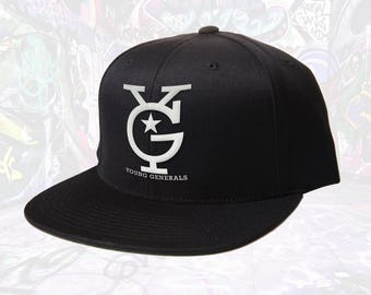 """General Active Wear """"YG stacked"""" Hat"""