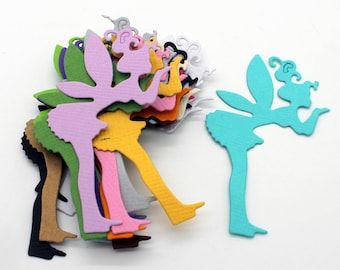 Fairy: set of die - cut cut-outs