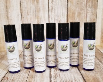 Essential Oil Glass Roll On