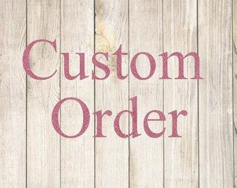 Custom Order - 5 Large Dishes