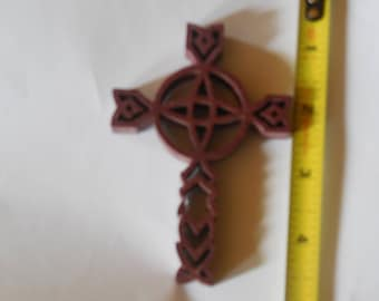 purple heart native american cross