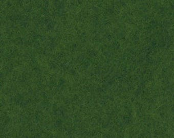Felt coupon 30 x 20 green grass