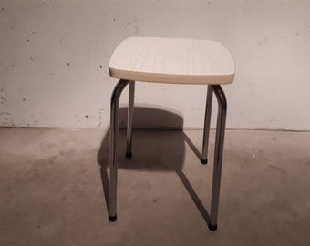 Stool from the 60s formica