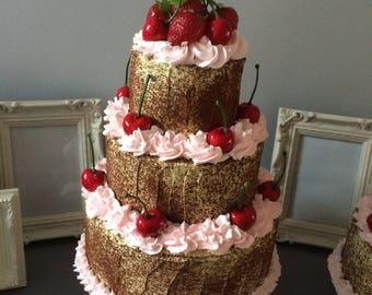 Fake 3 tier cake