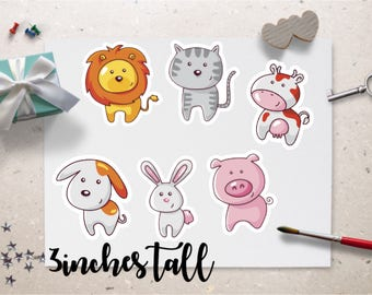 Planner DieCuts - Cute Animals