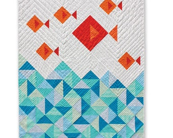 Little Fishies Quilt Pattern by Whole Circle Quilt Studio - WCS 001