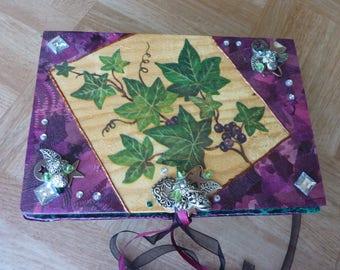 "Jewelry box wood with mirror ""Ivy"""