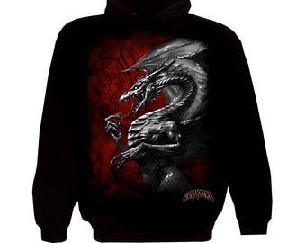 Zipper Hoody Flash Dragon
