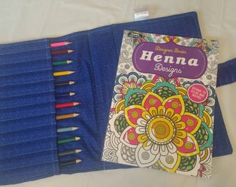 Coloring Book For Adults Adult Set Holder