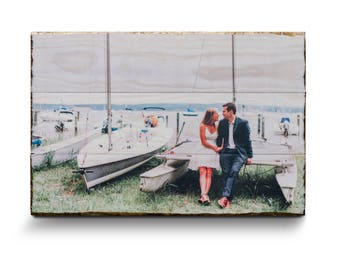 Photo on Wood - Any Size   Picture on Wood   Rustic Home Decor   Pictures on Wood   Photos on Wood   Personalized Gift   Photo Gifts