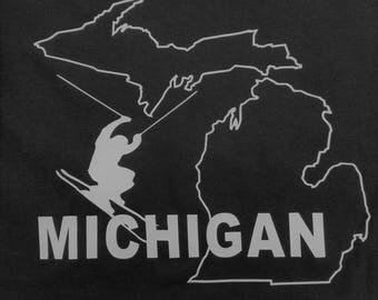 Ski Michigan T shirt