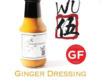 WU ginger dressing for sale -Gluten Free Sauce - Ginger Sauce- Salad dressing-Better than Benihana- Buy Ginger dressing-Sauce-asian dressing