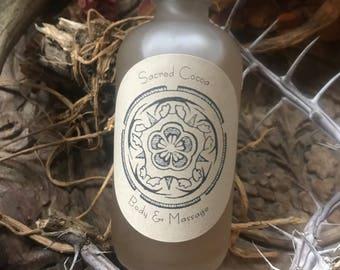 Sacred Cocoa Body & Massage Oil~