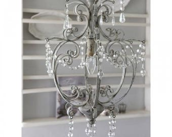Chandelier with crystals Vintage Chic C